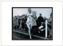 Roger Bannister Autograph Signed Photo